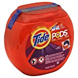 Tide Detergent + Stain Remover + Brightener, HE, Spring Window 57 pacs [51 oz (3.17 lb) 1.44 kg]