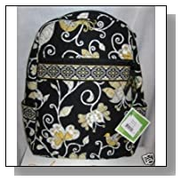 Vera Bradley Backpack Bag in Yellow Bird