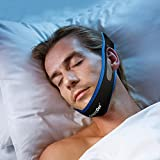 SnoreDoc(TM) - The Original Anti Snoring Jaw Strap - The Anti Snore Device That Is Rated #1 In Effective Snore Relief - Stop Snoring Naturally And Instantly!