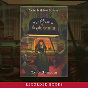 The Case of the Cryptic Crinoline Audiobook
