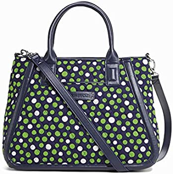 Vera Bradley Trapeze Satchel Bag