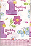 Amscan Hugs   Stitches Girl Paper Table Cover