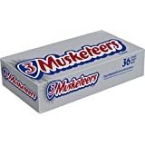 3 Musketeers Chocolate Candy Bar, Singles (36 Count)