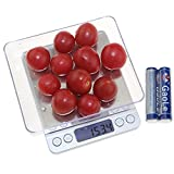 Kitchen Food Scale - Dealight 2000g /0.01oz Digital Pocket Scale with Backlit LCD display