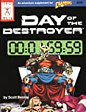 img - for Day of the Destroyer (Champions Ser.) book / textbook / text book