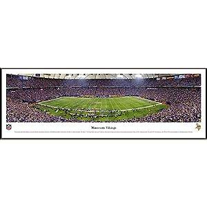 NFL Minnesota Vikings Framed Panoramic Stadium Photo by Blakeway Worldwide Panoramas