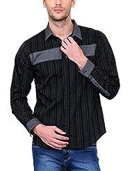 Yepme Men's Striped Cotton Shirt - YPMSHRT0452
