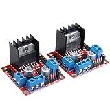 Ecoolbuy L298N Dual H Bridge Stepper Motor Drive Controller Board Module for Arduino