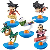 Dragon Ball Goku (Flying), Goku (Cloud Surfing), Piccolo, Shenron, Tao Pai Pai, Yura Kore Mini Figure Set Of 5