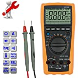 ESYNiC VC99 6999 Digital Auto Range LCD Multimeter Tester Voltmeter Ammeter Capacitor Amp Voltage OHM AC DC Diode And Hfe Test Circuit Checker All Function
