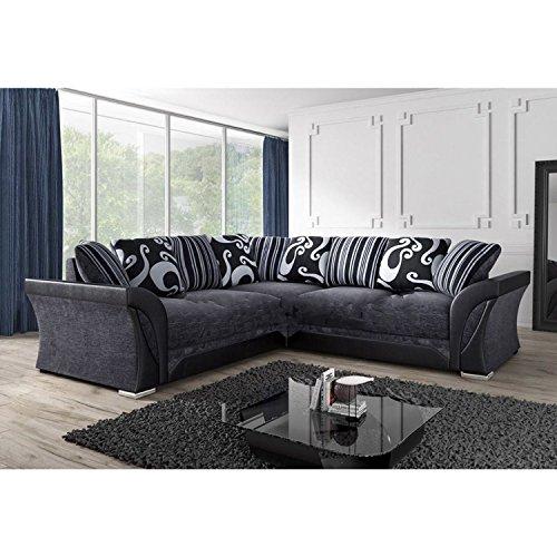 new-farrow-leather-chenille-fabric-corner-sofa-in-black-grey