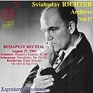 Sviatoslav Richter Archives /Vol.17