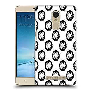 Snoogg Black Chakras Printed Protective Phone Back Case Cover For Xiaomi Redmi Note 3