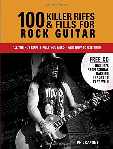 100 Triggerman Riffs and Fills for Rock Guitar (Music Bibles)