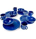 Search : GSI Outdoors Pioneer 12 Piece Blue Enamelware Table Set