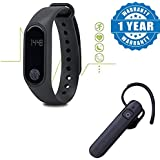 Jolla Smartphone Compatible Certified Intelligence Smart Band Compatible With Bluetooth, Heart Rate Sensor & Bluetooth...