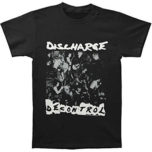 Discharge Men'S Decontrol T-Shirt Xx-Large Black