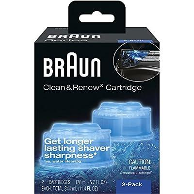 Braun Syncro Shaver System Clean & Renew Refills