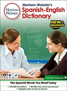 Merriam Webster's Spanish- English Dictionary- Classroom  Site License 30 users [Download] by Fogware Publishing