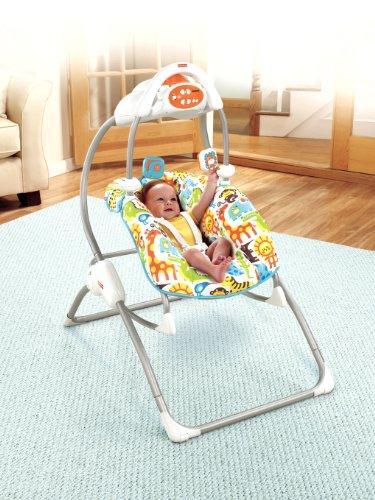 Imagen 2 de Baby Gear V4959 - Columpio-Hamaca 2 En 1 (Mattel)