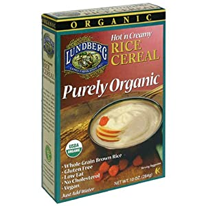 Amazon.com: Lundberg Purely Organic Hot Brown Rice Cereal