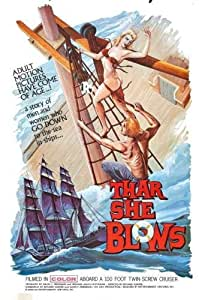 """Amazon.com: Thar She Blows Movie Poster #01 24""""x36"""": Kitchen & Dining"""