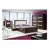 JUSThome-Orlando-Schlafzimmerset-Schlafzimmerkombination-Schlafzimmer-komplett-Set-Wenge-Wei-lackiert
