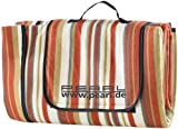 Lawn & Patio - PEARL Aufrollbare Fleece-Picknick-Decke 200 x 175 cm