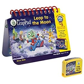 My First LeapPad Book: Leap to the Moon