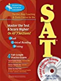 img - for SAT w/ CD-ROM (REA) - The Very Best Coaching & Study Course (SAT PSAT ACT (College Admission) Prep) book / textbook / text book
