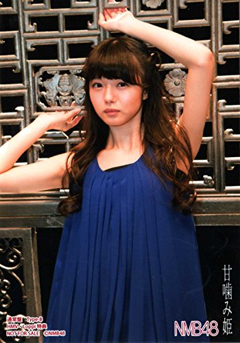 NMB48 公式生写真 甘噛み姫 HMV 店舗特典 市川 美織