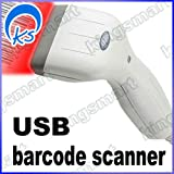 Hand Held Contact USB 80mm Long hand-held CCD Barcode Scanner Barcode Reader w/red LED CCD reader
