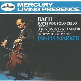 Johann Sebastian Bach: Suite for Cello Solo No.2 in D minor, BWV 1008 - 3. Courante
