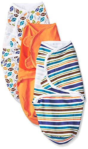 Summer Infant 3-Pack SwaddleMe - Sports