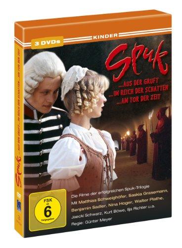 Spuk - Trilogie: Spuk aus der Gruft / Spuk im Reich der Schatten / Spuk am Tor der Zeit [3 DVDs]