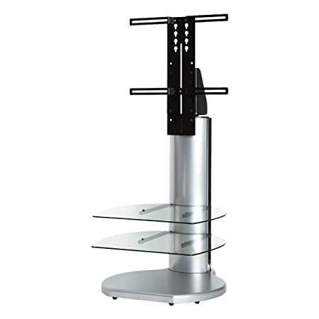 Origin II S4 Cantilever TV Stand In Silver