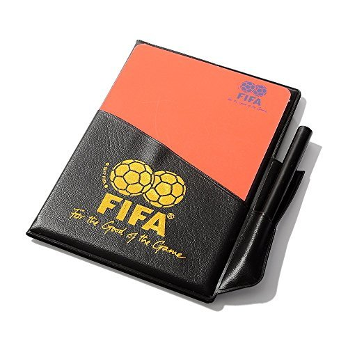 TIMEOW Soccer Referee Red Card Football Yellow Card with Wallet Pencil Record Paper for FIFA Judge Fluorescent Cards (Red Card Soccer compare prices)
