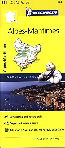 Mapa Local Alpes-Maritimes (Michelin Local Maps)