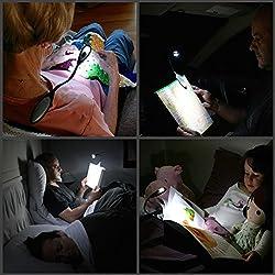 SahiBUY Book Reading Mini Super Bright LED Clip Light