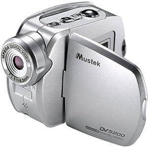"""Mustek DV5200 6-in-1 Multi-Function Camcorder w/1.5"""" LCD & 4x Digital Zoom"""