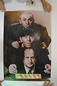 Dewey Cheatem And Howe >> Amazon.com: 3 Stooges Dewey, Cheatem, and Howe Poster ...