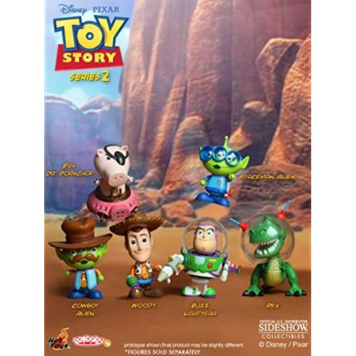 Toy Story S Series 2 Vinyl Cosbaby Figures Set Of 6 피규어 다이캐스트 인형(병행수입)-