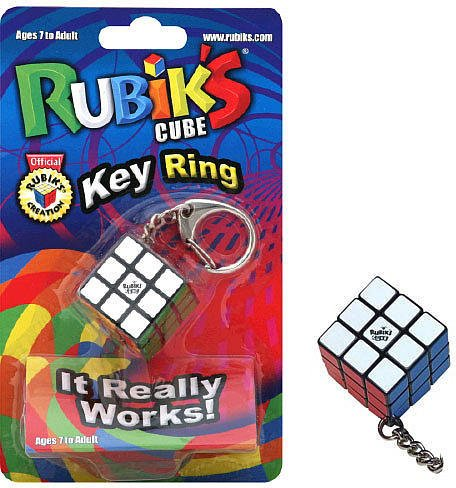 Cheap Winning Moves Rubiks Cube Key Ring w/ FREE storage bag (B004S319WS)
