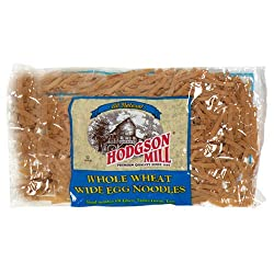 Hodgson Mill Whole Wheat Wide Egg Noodles, 12-Ounce Packages (Pack of 12)