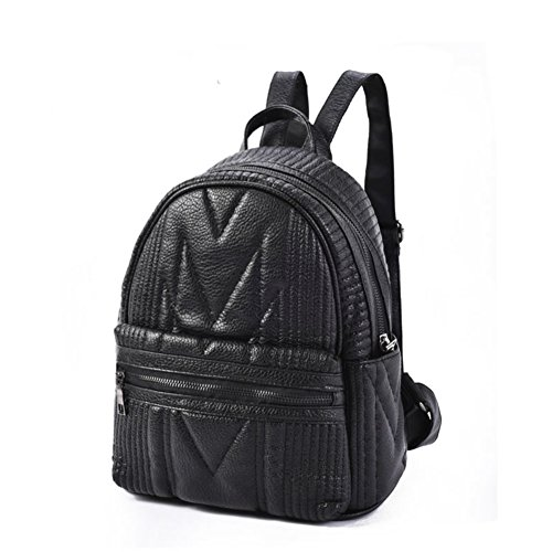 Sac à bandoulière doubles/Casual petit sac à dos/Sac vintage de vent Collège