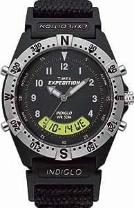 Timex Men's T44442 Crown Set Resin Combo Watch