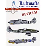 LUFTWAFFE OFFICIAL COLOR CHARTby Thomas Tullis