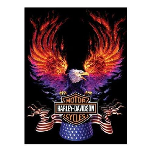 FX Schmid Harley Davidson Flaming Eagle 500 Piece Jigsaw Puzzle