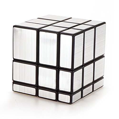 ClothingTalks 3x3x3 Mirror Speed Cube Anti-Pop Magic Rubix Puzzle 5.7CM/2.24