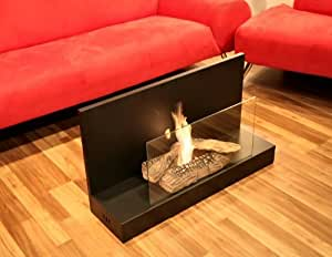 Wall Mounted/Free Standing Bio Ethanol Fuel Fireplace